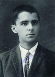 Владимир Васильевич Пронин, студент Битольськой семинарии 1930-1934 гг.